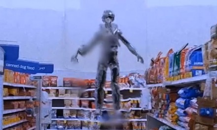 Alien Sighting At The Store Shocking Footage