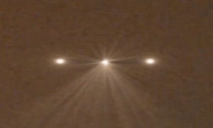 UFO Sighting Unknown Object Scans Area