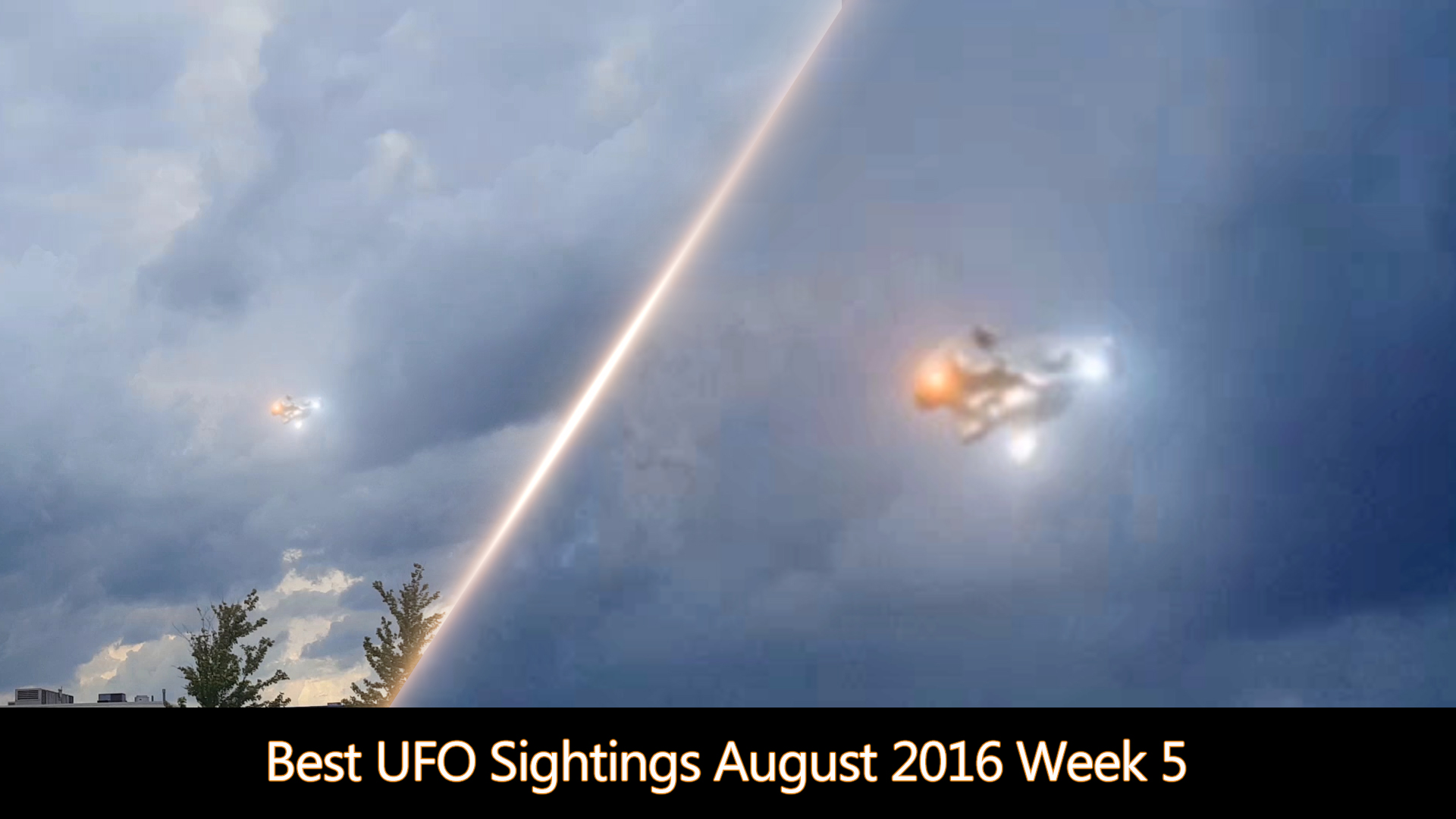 Best UFO Sightings August 2016 Week 5 | iufosightings
