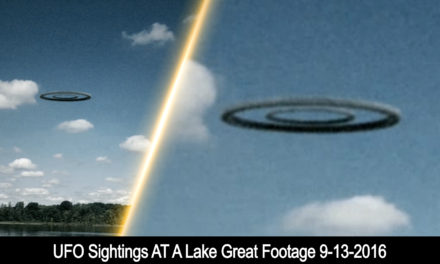 UFO Sightings At A Lake Great Footage 9-13-2016