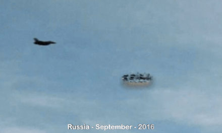UFO Sightings 2016 Jet Checks Out UFO 9-26-2016