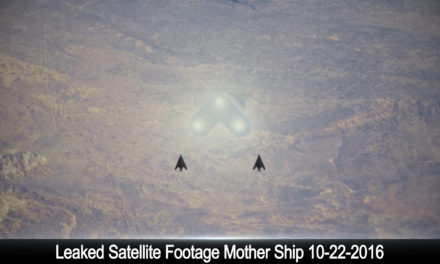 UFO Sightings Leaked Satellite Footage Mother Ship 10-22-2016