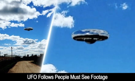 UFO Sightings Object Follows People Must See Footage 10-11-2016