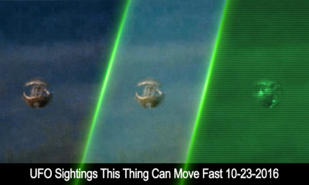 UFO Sightings This Thing Can Move Fast 10-23-2016