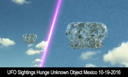 UFO Sightings This Thing Is huge Mexico 10-19-2016