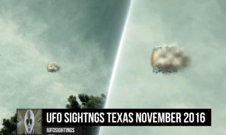 UFO Sightings Texas November 11-20-2016
