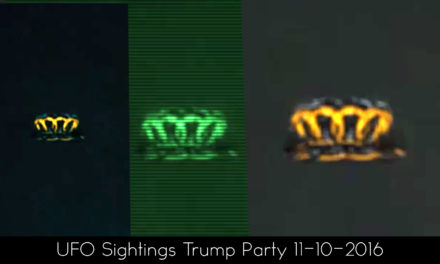 UFO Sightings Trump After Party 11-9-2016