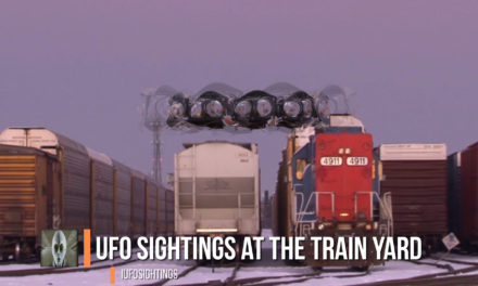 UFO Sightings At The Train Yard 12-27-2016