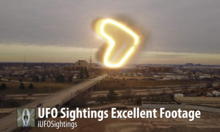 UFO Sightings Excellent Footage 1-17-2016