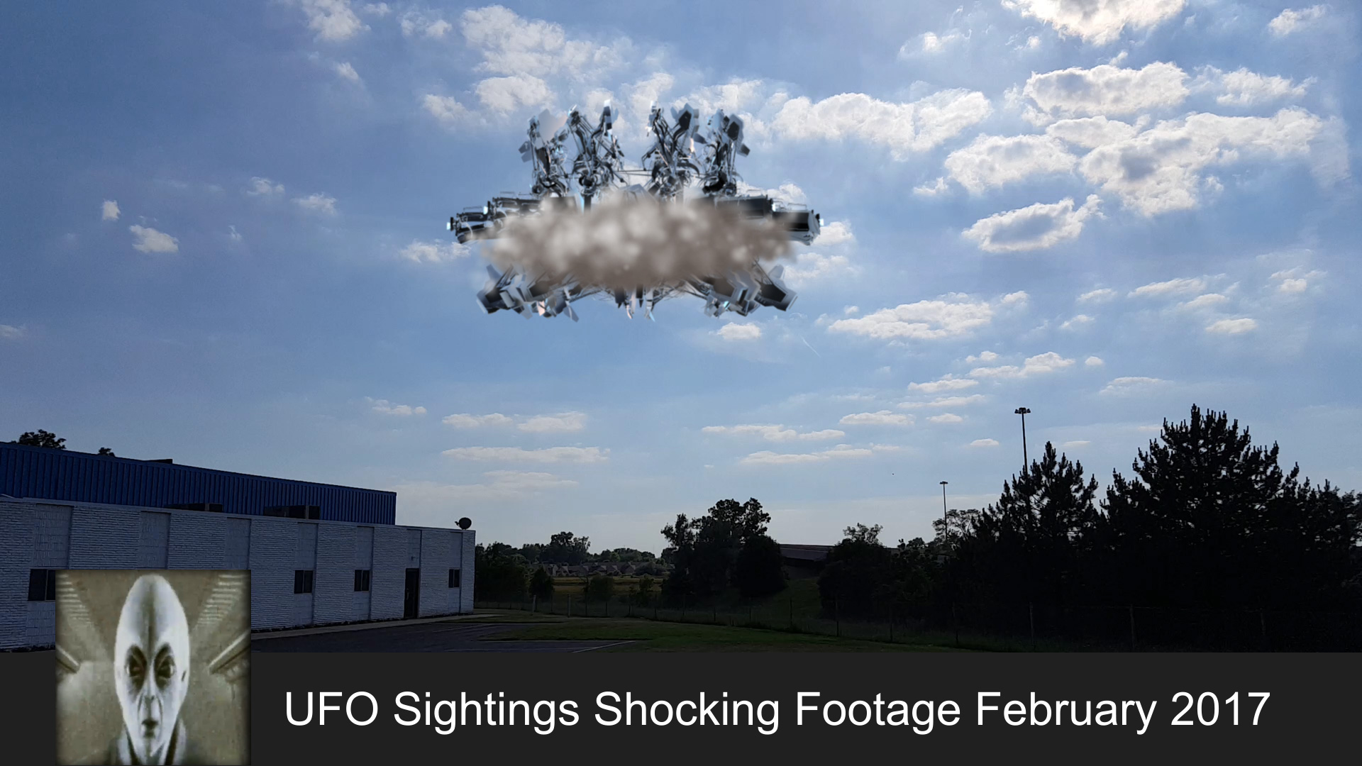UFO Sightings Shocking Footage February 23rd 2017 ...
