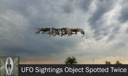 UFO Sightings Object Spotted Twice June 10th 2017