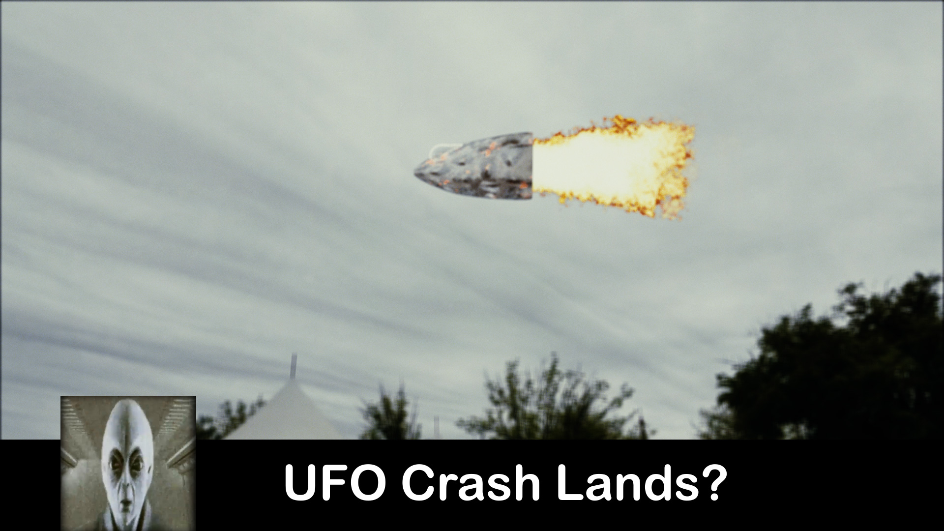 UFO Crash Lands