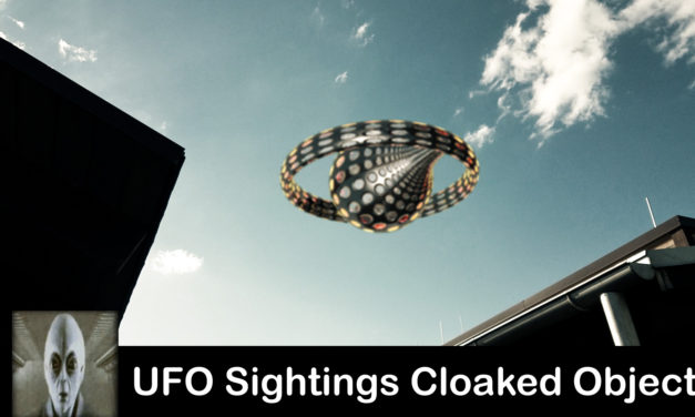UFO Sightings Cloaked Object July 2017