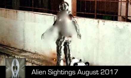 Aliens Spotted What Is It August 24th 2017