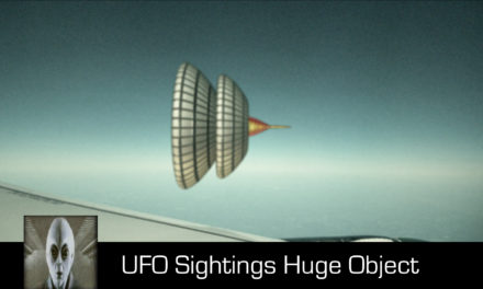 UFO Sightings Huge Unknown Object August 7th 2017