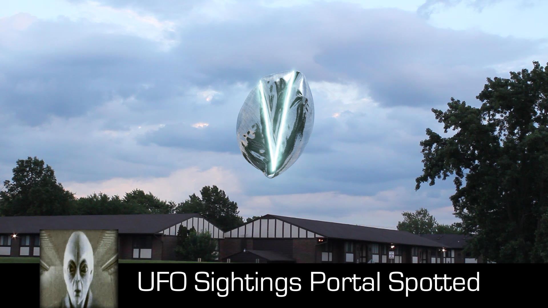 UFO Sightings Possible Portal Spotted August 27th 2017