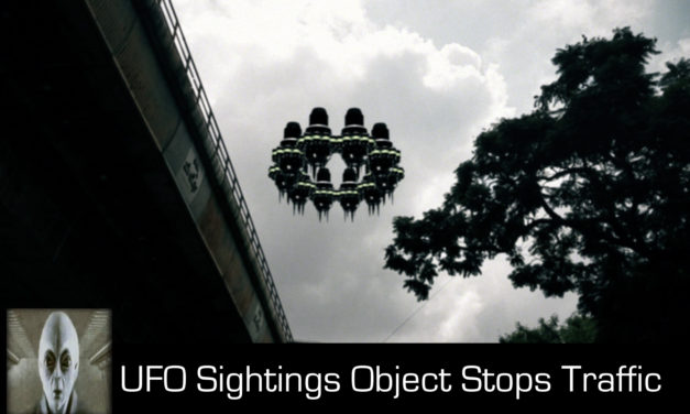 UFO Sightings Object Stops Traffic September 14th 2017