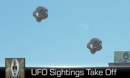 UFO Sightings Two Objects Take Off November 23rd 2017