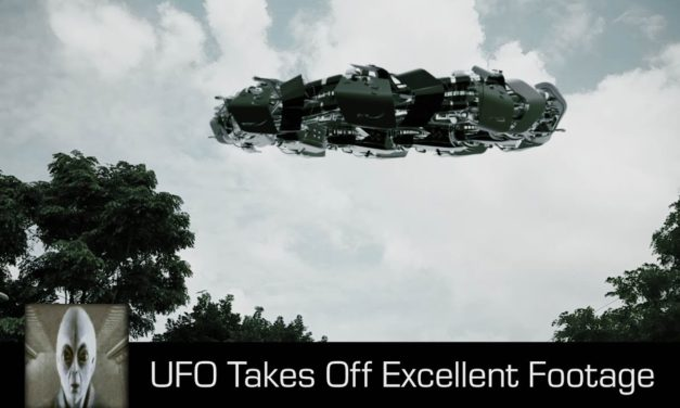 UFO Takes Off Excellent Footage November 9th 2017