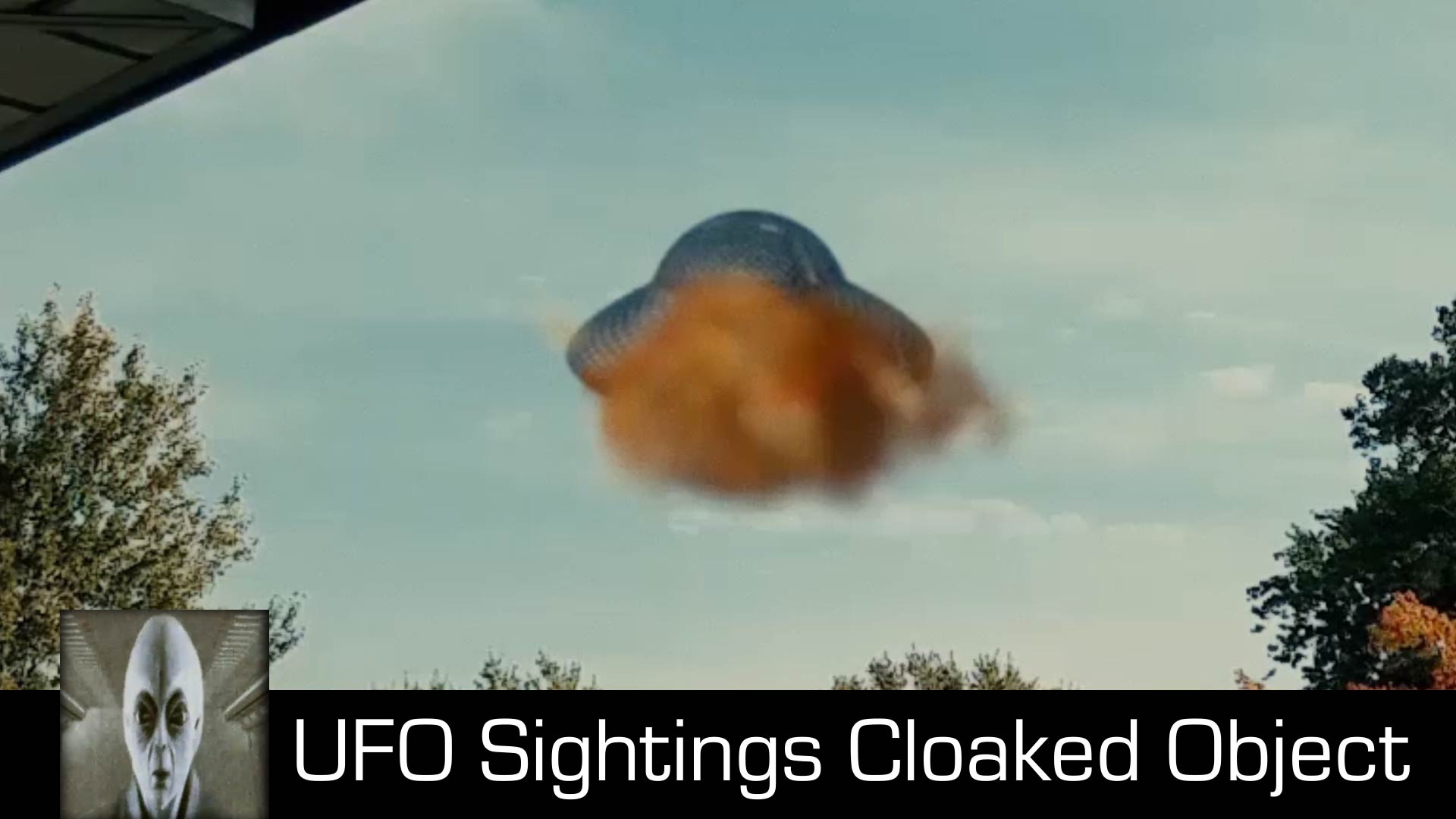 UFO Sightings Cloaked Object December 11th 2017