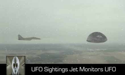 UFO Sightings Jet Monitors UFO December 8th 2017
