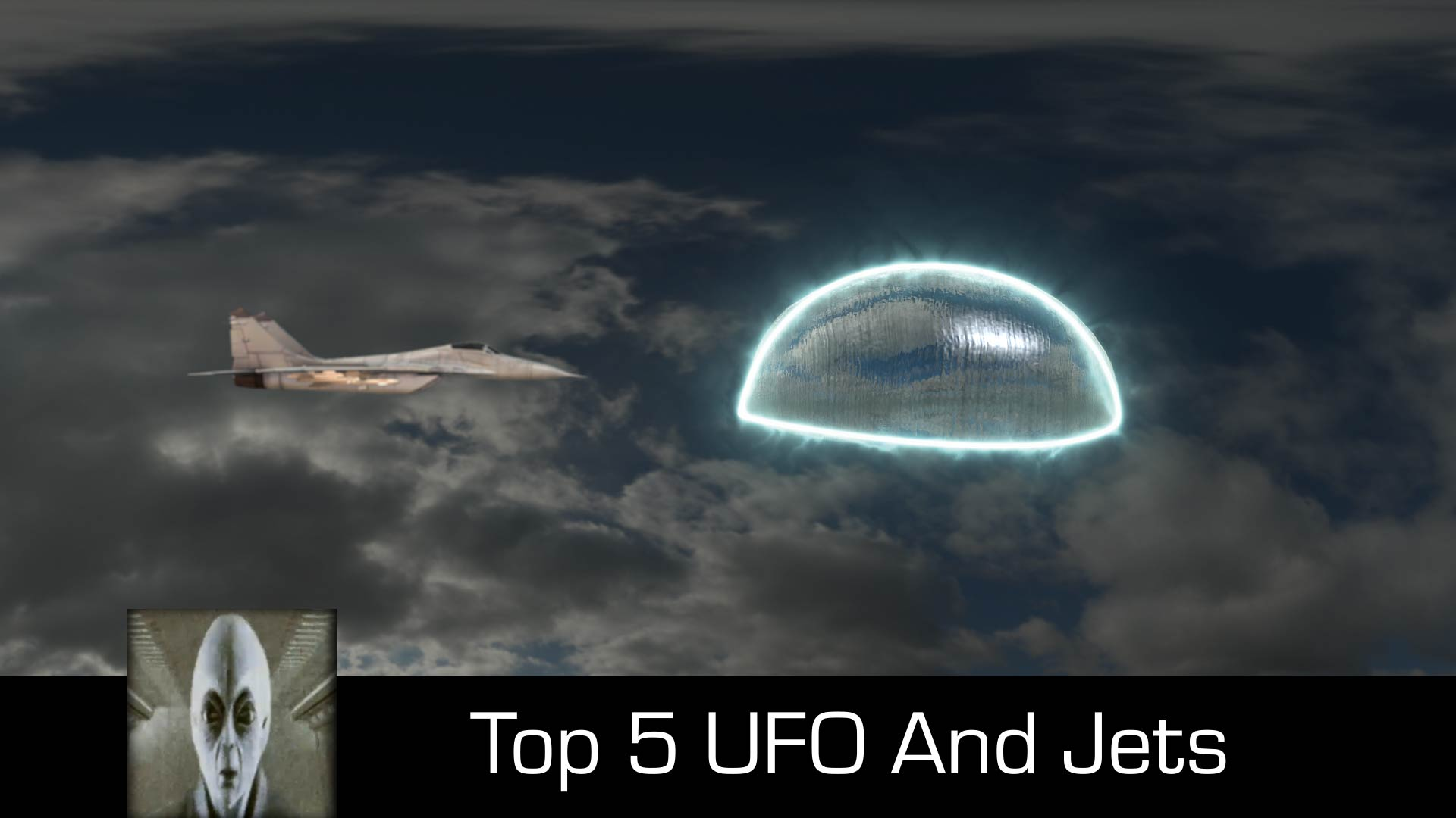 Top 5 UFOs And Jets