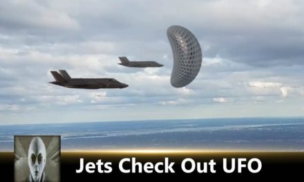 Jets Check Out UFO May 2nd 2018
