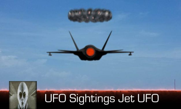 UFO Sightings Jet Engages UFO May 18th 2018