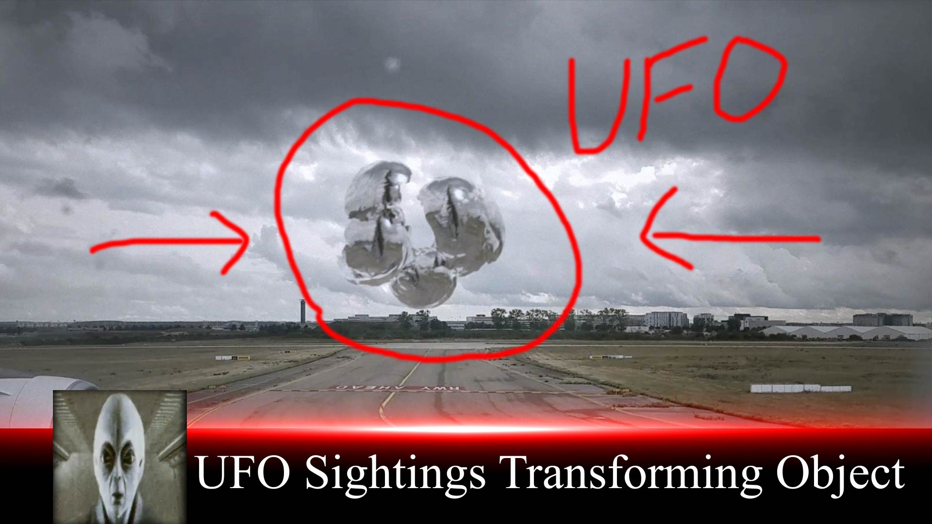 UFO Sightings Transforming Object May 10th 2018