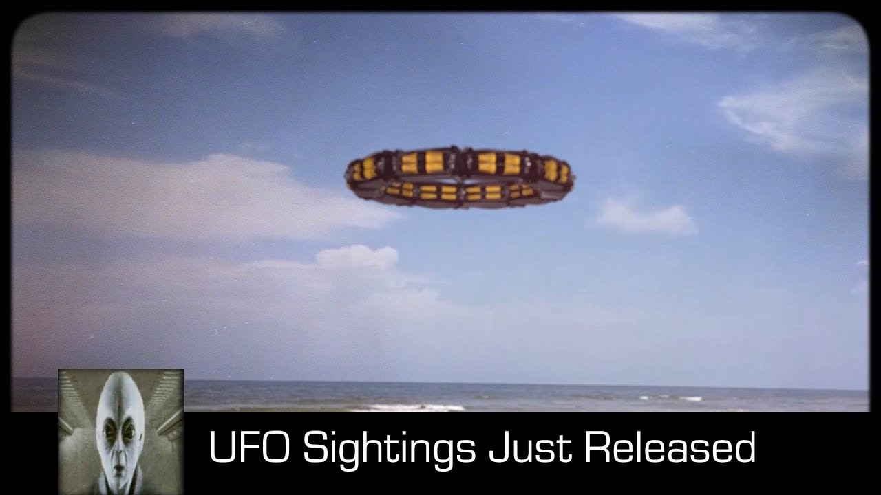 UFO Sightings Just Released Footage