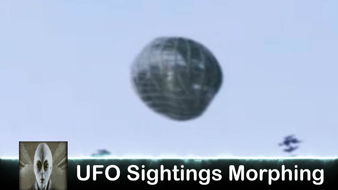 UFO Sightings Morpghing Object
