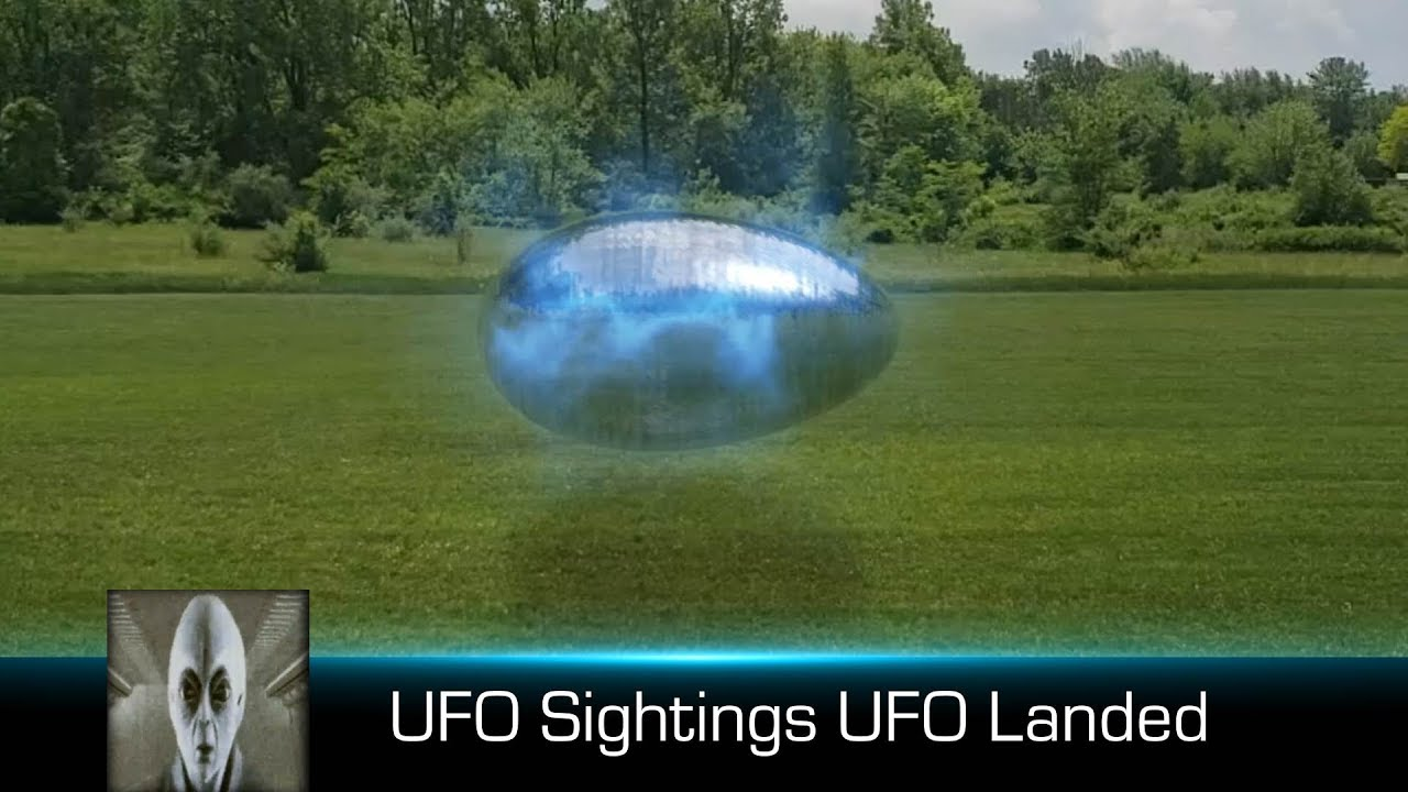 UFO Sightings UFO Landed June 12th 2018