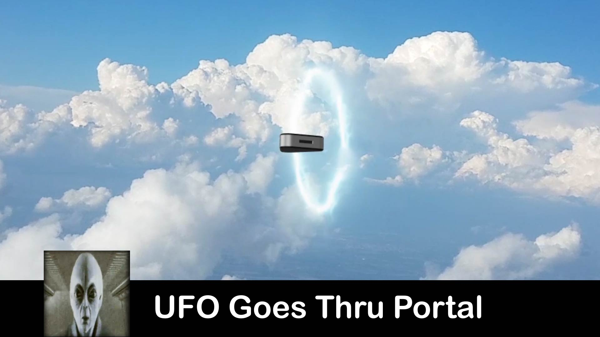 UFO Goes Thru Portal July 29th 2018