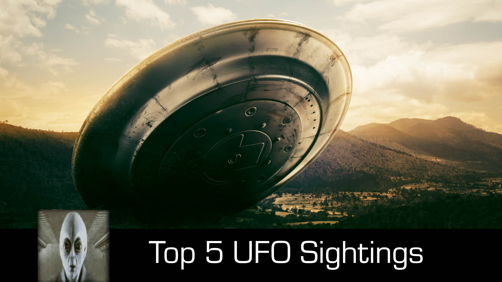 Top 5 UFO Sightings August 2018