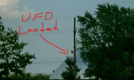 UFO Landed August 5th 2018