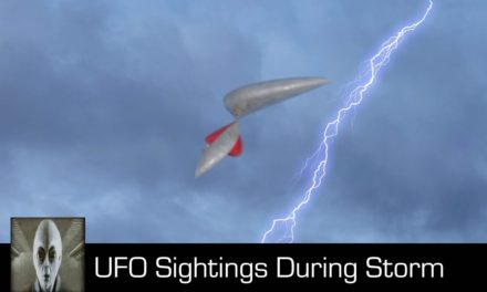 UFO Sightings During A Storm August 20th 2018