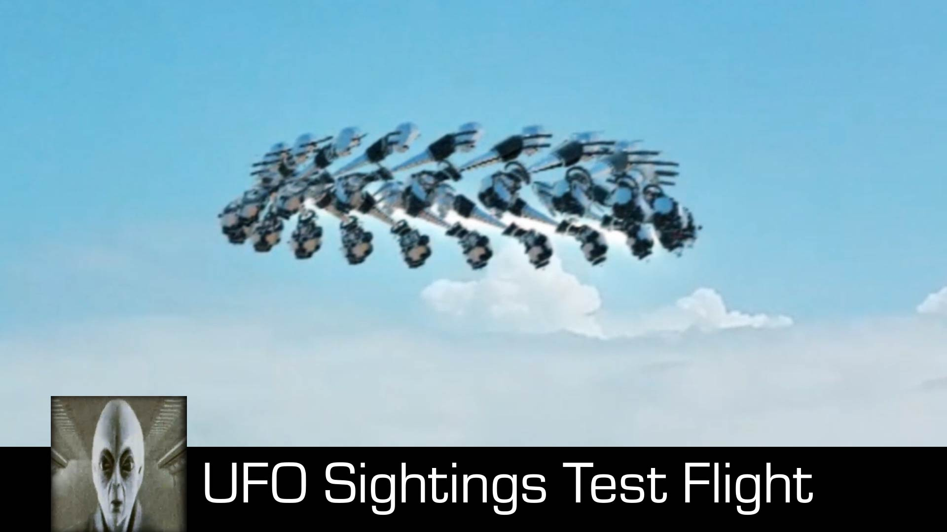 UFO Sightings Test Flight August 15th 2018