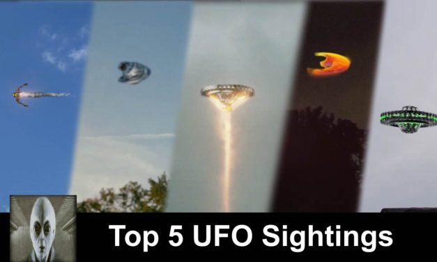Top 5 UFO Sightings September 17th 2018