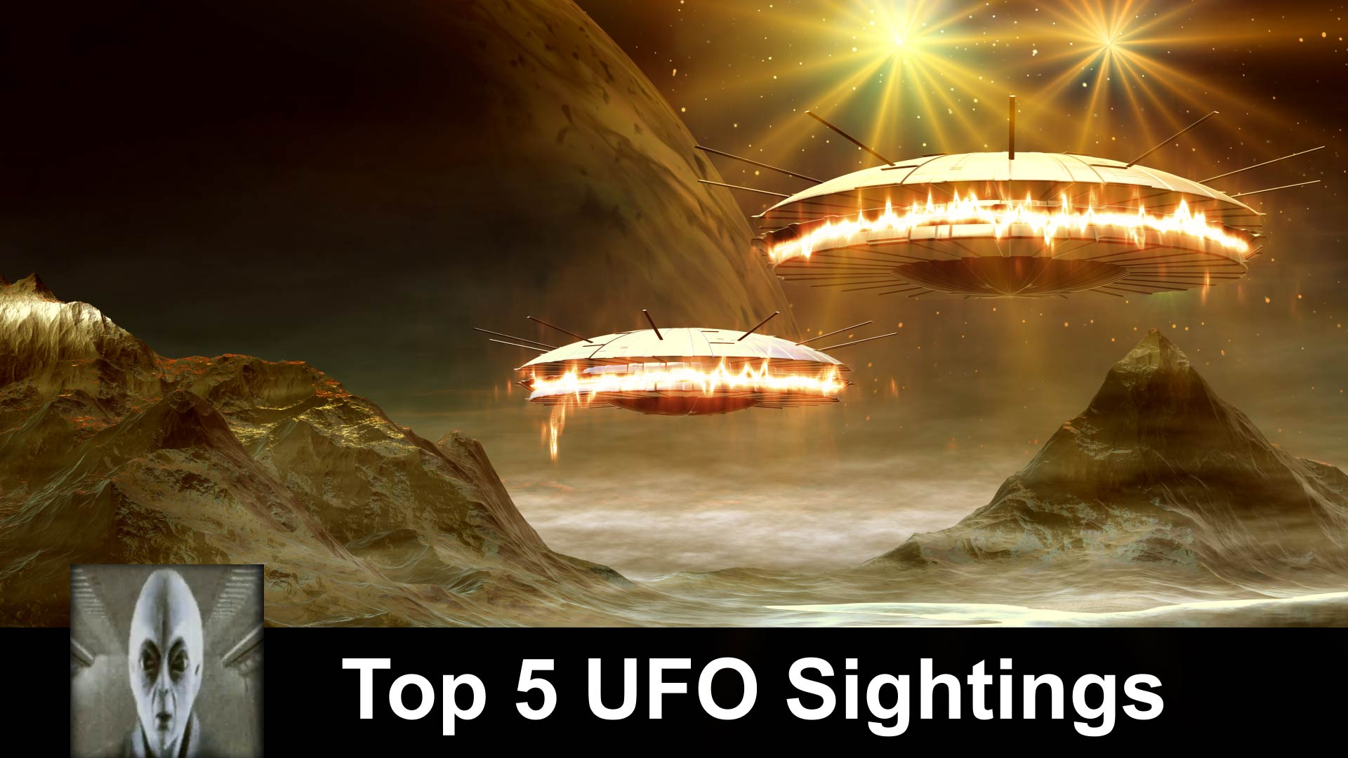 Top 5 UFO Sightings September 2018