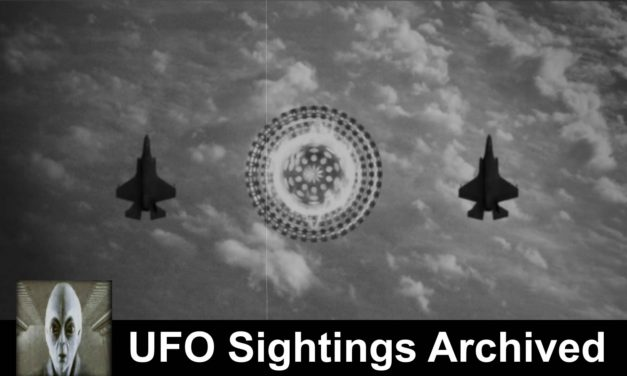 UFO Sightings Archived Footage September 15th 2018