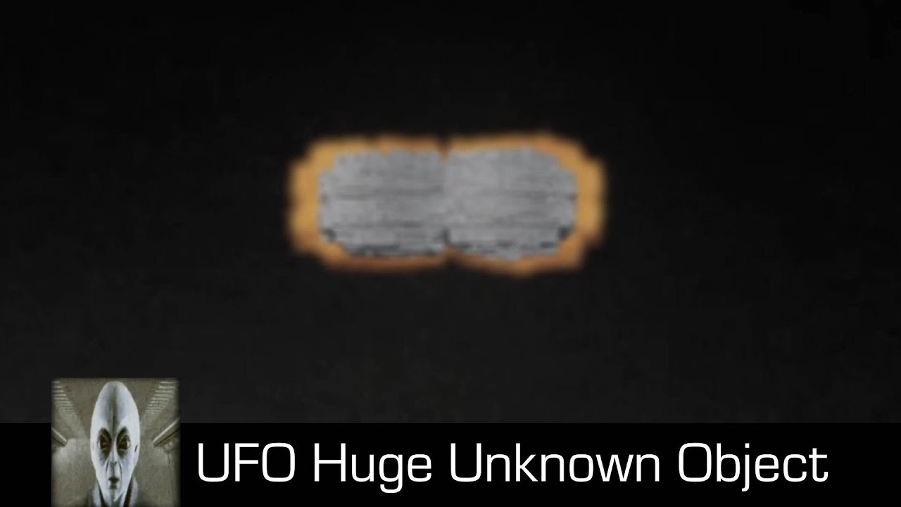 UFO Sightings Huge Object September 26th 2018