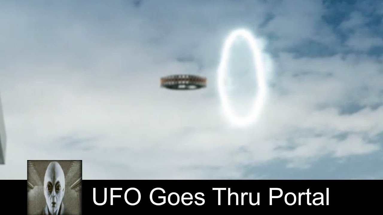UFO Goes Thru Portal October 10th 2018