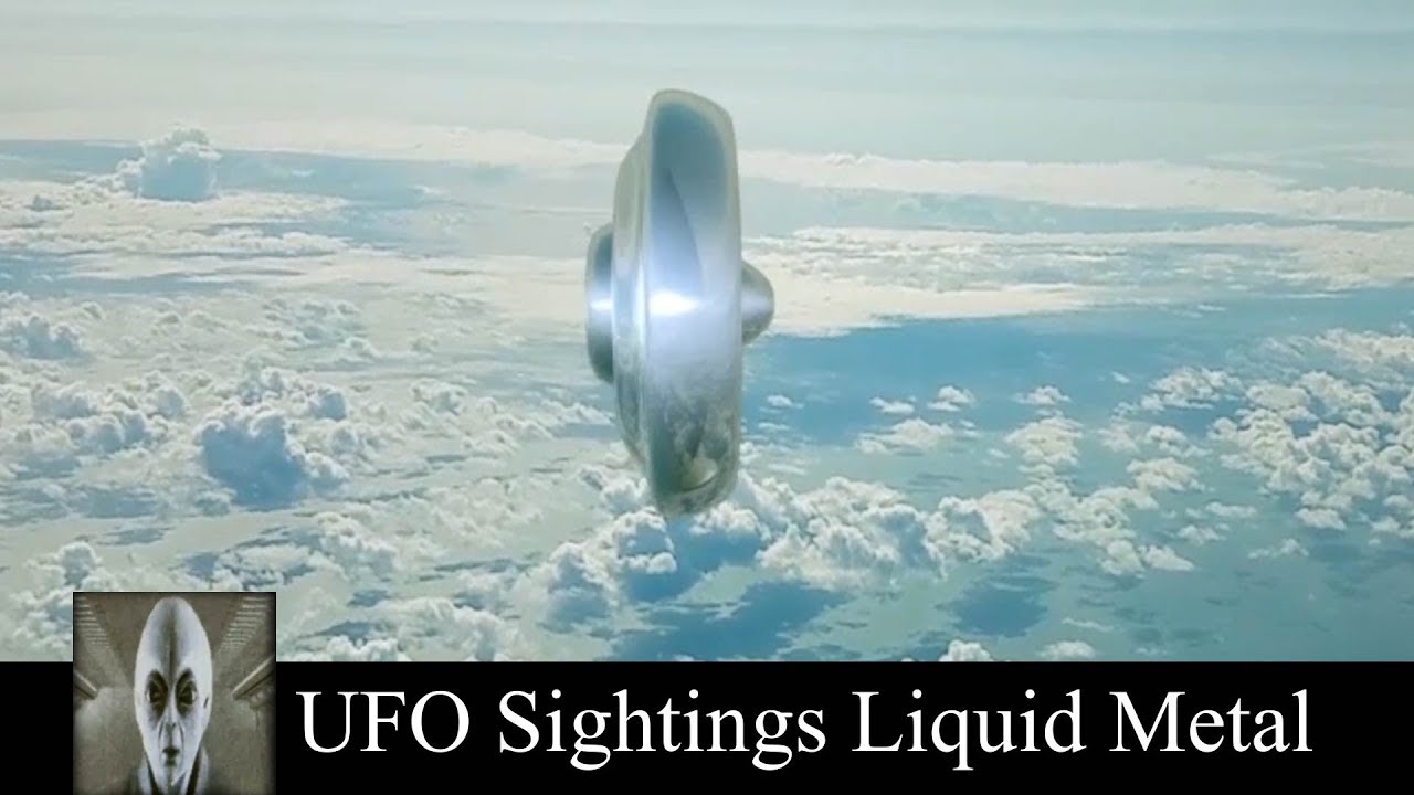 UFO Sightings Liquid Metal October 5th 2018
