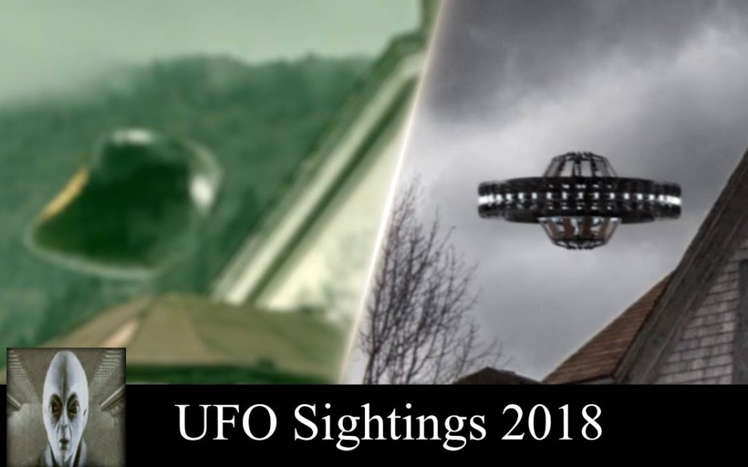 UFO Sightings 2018 Haunted House Halloween Edition