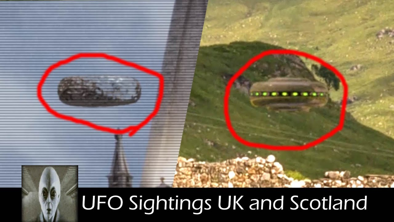 UFO Sightings in The UK and Scotland UFO 2018