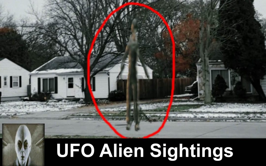 UFO Sightings Alien Space Ship and Alien Captured On Film
