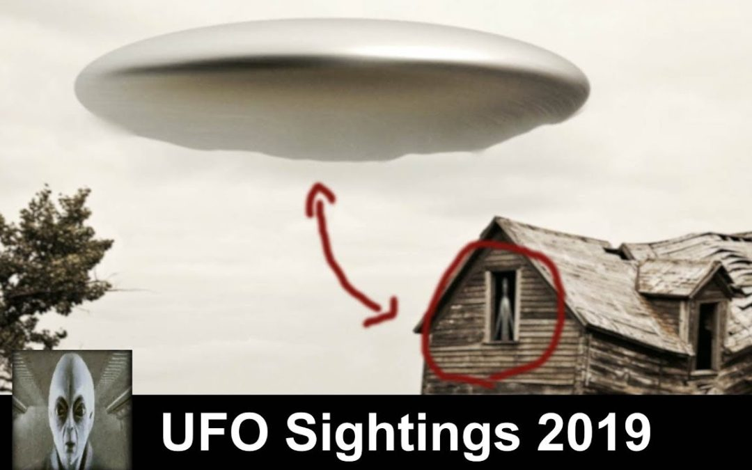 UFO Sightings 2019 Alien Teleports Into UFO And Flying Saucer Spotted