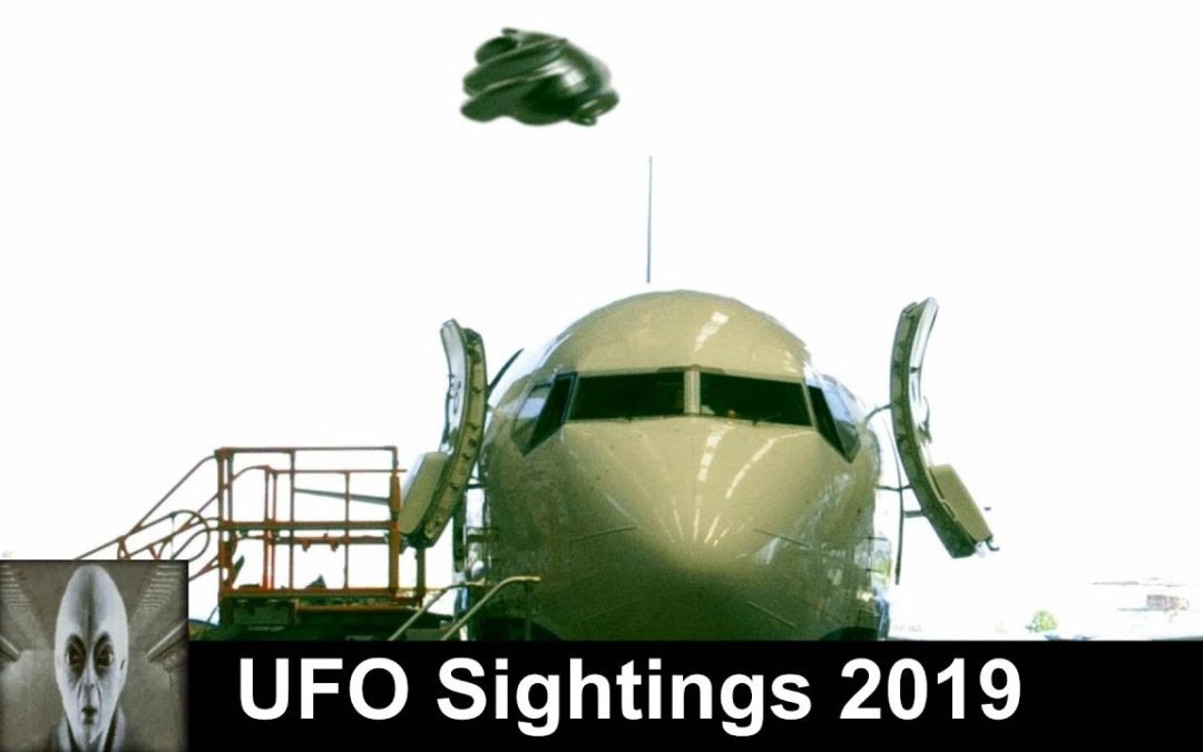 UFO Sightings 2019 Security Camera Footage Proof Positive