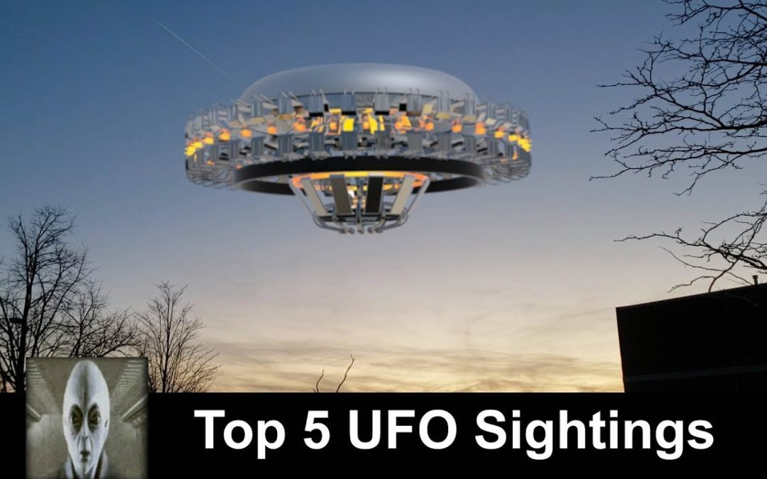 Top 5 UFO Sightings 2019 Check This Out Excellent UFO Footage