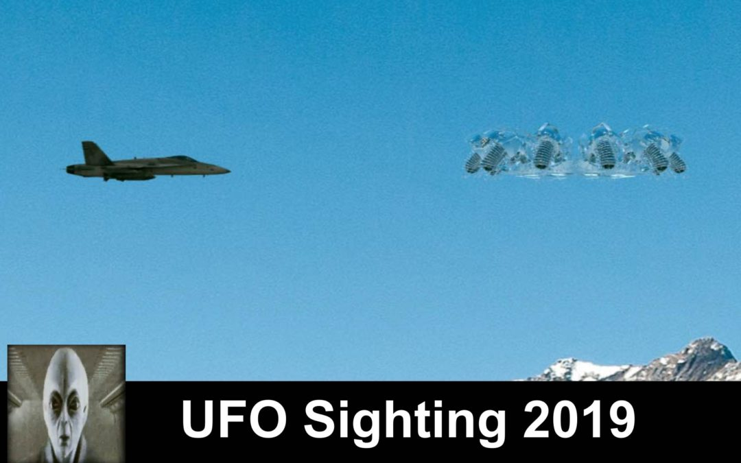 UFO Sightings 2019 Space Capsule Transparent UFO